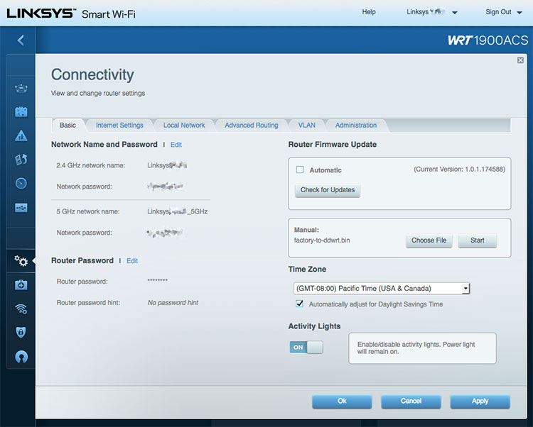 How to install DD-WRT on the Linksys WRT1900ACS Wireless Router