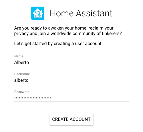 Home Assistant Authentication System – albertogonzalez net