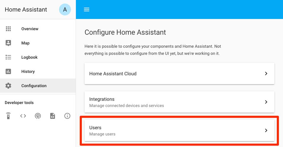 Home Assistant Authentication System – albertogonzalez net